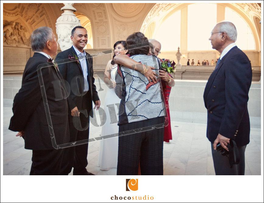 San Francisco City Hall Wedding vows