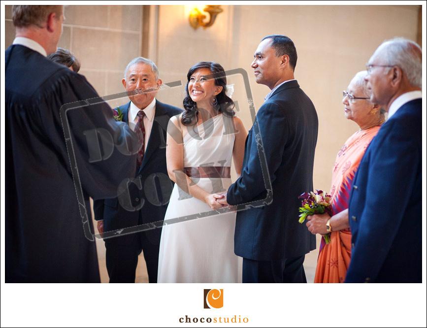San Francisco City Hall ceremony