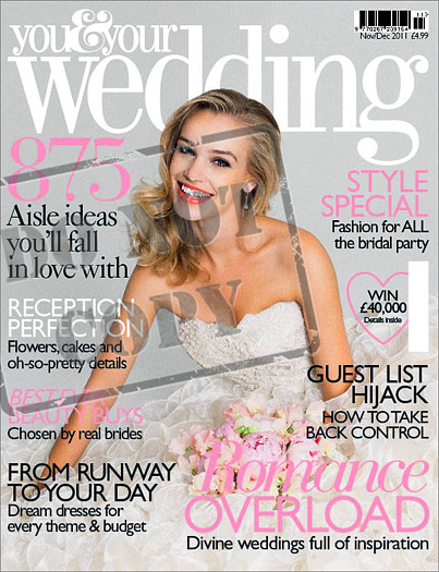 Published UK bridal magazine